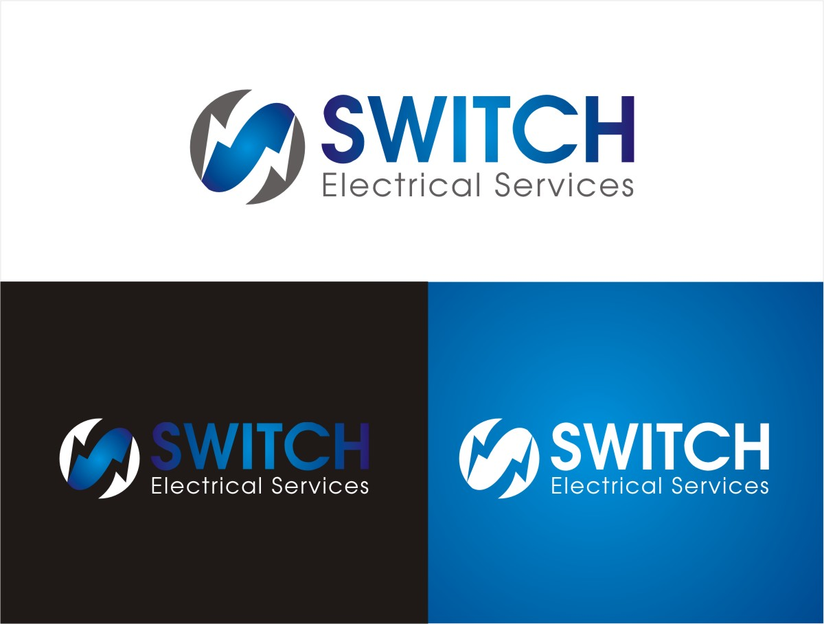 Bold modern logo design for switch electrical services by sushma logo design by sushma for switch electrical services requires a logo branding for vehicles business magicingreecefo Images