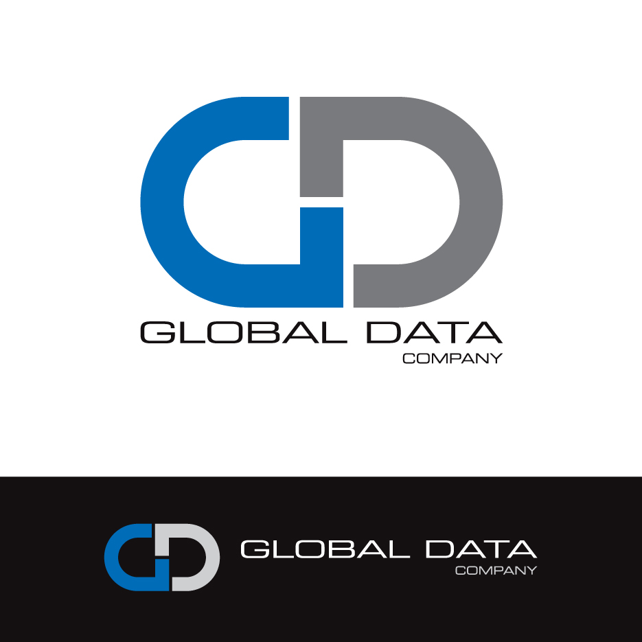 Upmarket bold logo design for global data company by gvb for Global design firm