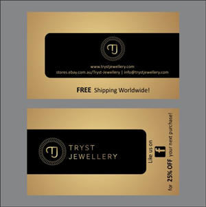 Black jewelry business card template vector free download business professional jewelry business card designs for a jewelry jewelry business cards templates free reheart