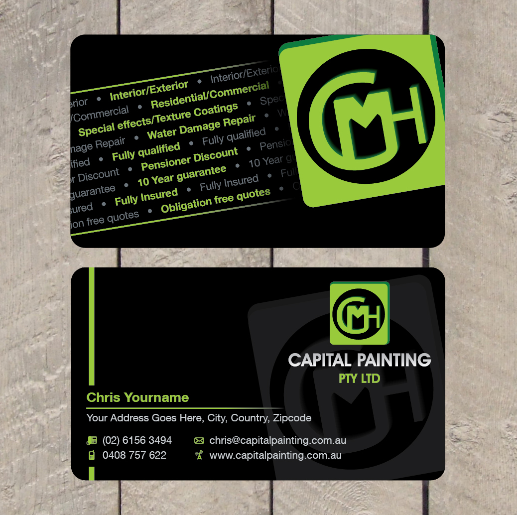 Modern professional business business card design for a company by business card design by patriotu for this project design 760451 reheart Images