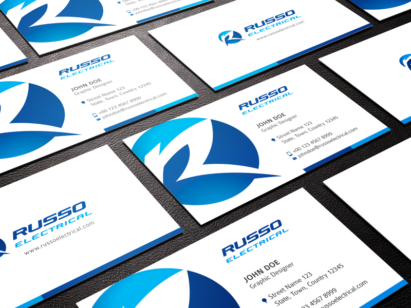 Electrical logo design for russo electrical by goh design 3107322 electrical logo design for russo electrical in australia design 3107322 colourmoves