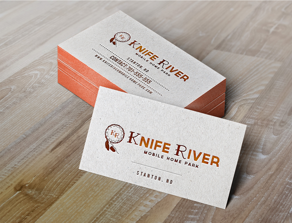 Logo Design By JTdsign For Knife River Mobile Home Park