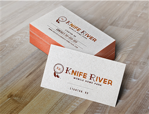 Logo Design 3324563 Submitted To Knife River Mobile Home Park Closed