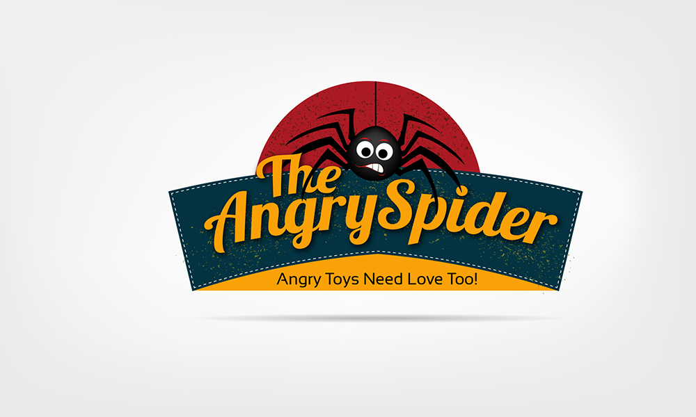 Logo Design for The Angry Spider by Ushan sampath | Design ...