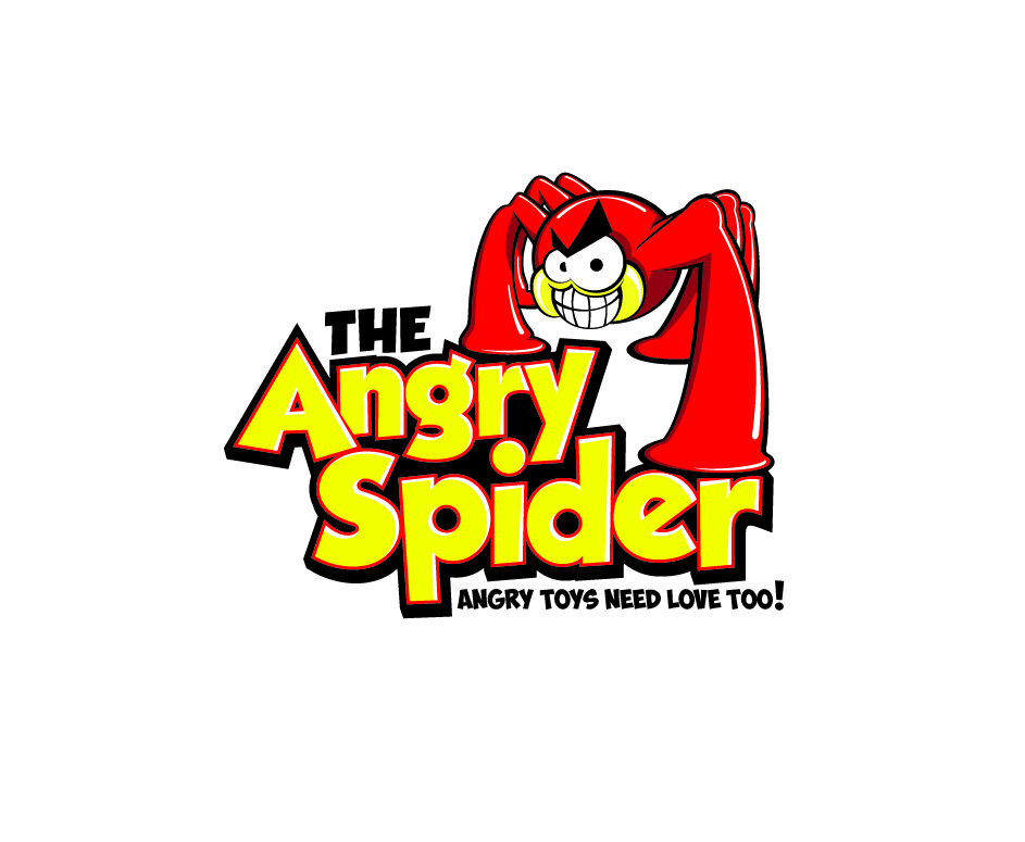 Toy Store Logo : Logo design for the angry spider by cisconcepts
