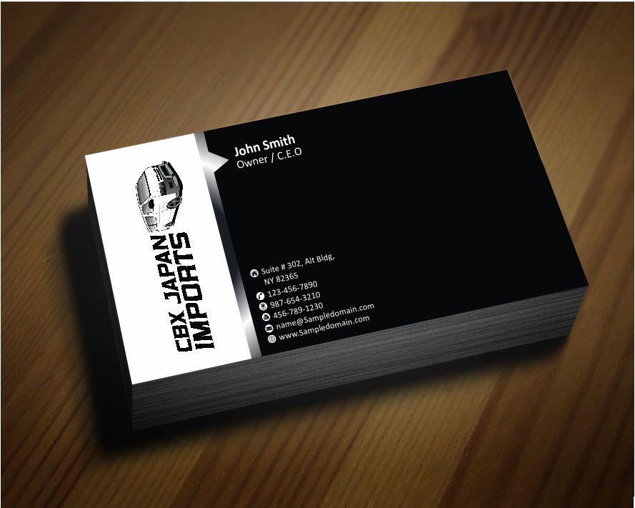 Business Business Card Design for CBX JAPAN LTD by zarnab | Design ...