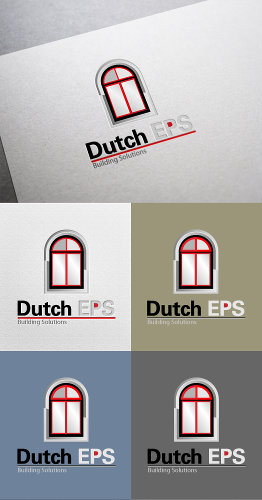 Professional masculine building logo design for dutch for Professional building designer