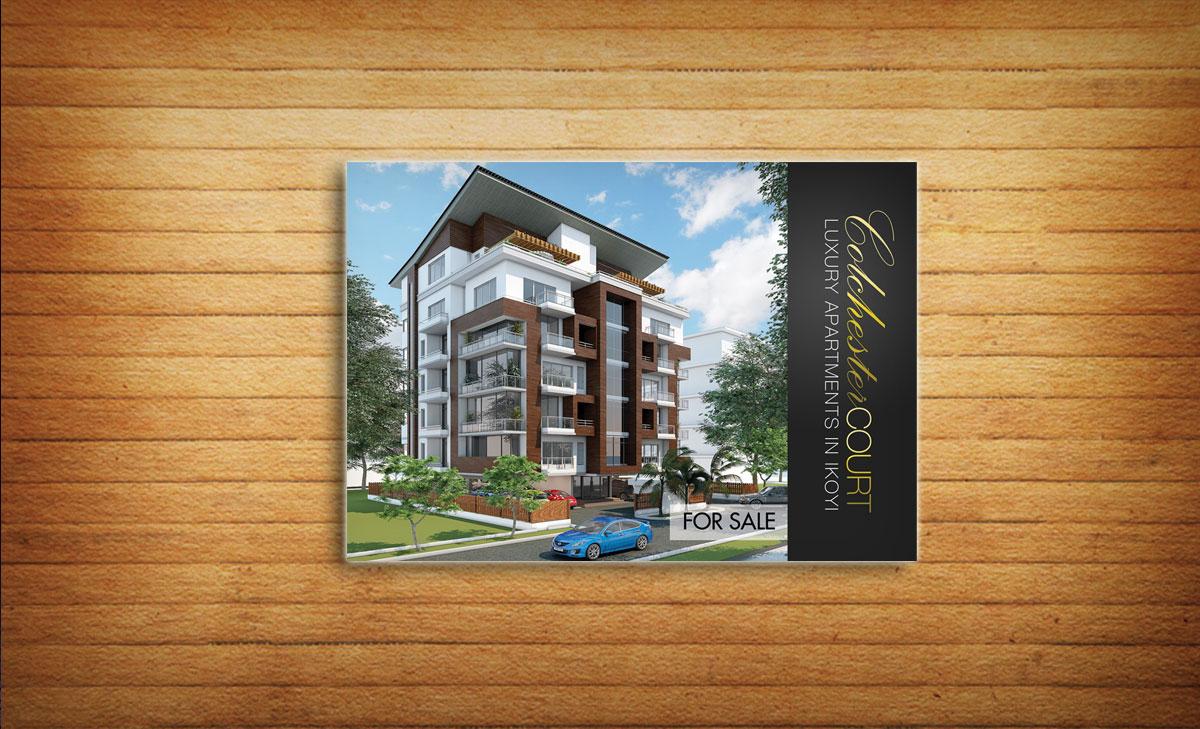 Modern professional building brochure design for lara for Professional building designer