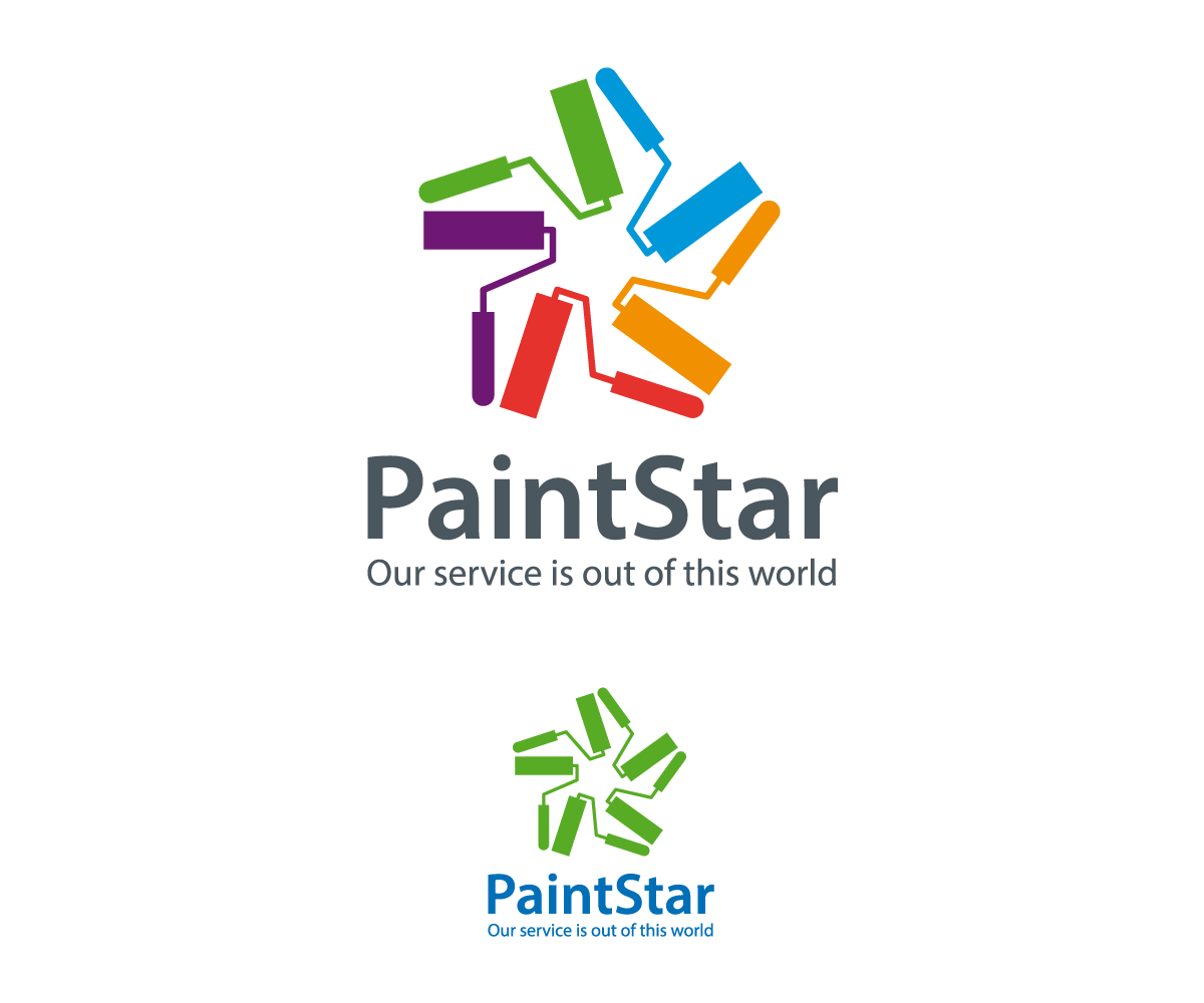 37 professional paint logo designs for undeath logo our for Painting and decorating logo ideas