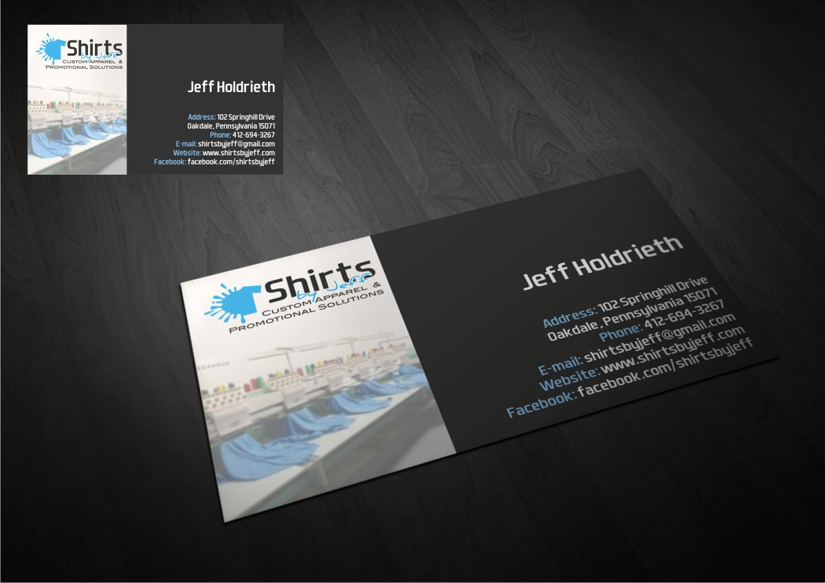 business card design by amduat design for this project design 3127079 - Screen Printing Business Cards