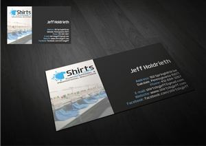 Business Card Design by Amduat - Shirts By Jeff Design