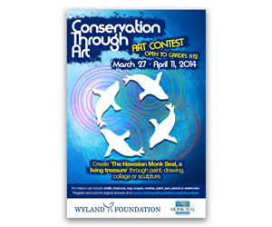 Flyer Design by MustardMike - Monk Seal Foundation and Wyland Foundation are ...