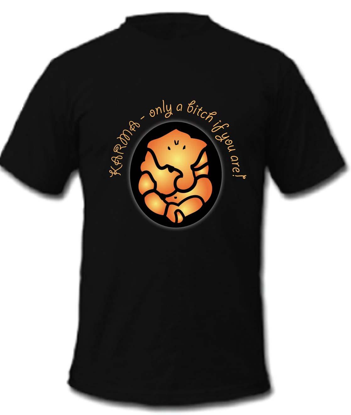 Feminine playful business t shirt design for a company for Business t shirt design