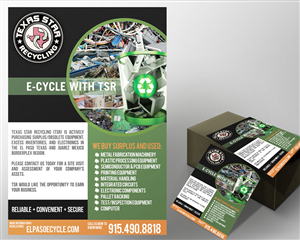 Flyer Design by nurmania - new recycling company is looking for more vendors