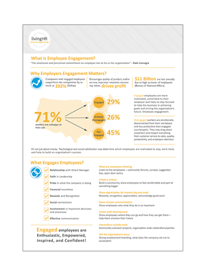Flyer Design by huujdesign - Talent Management Company needs an Employee Eng...