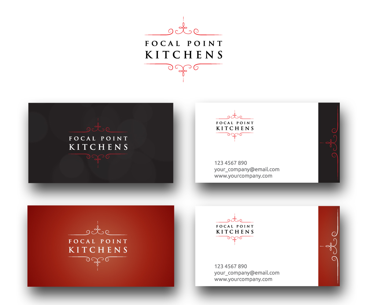 Business Logo Design For Focal Point KITCHENS By Genart