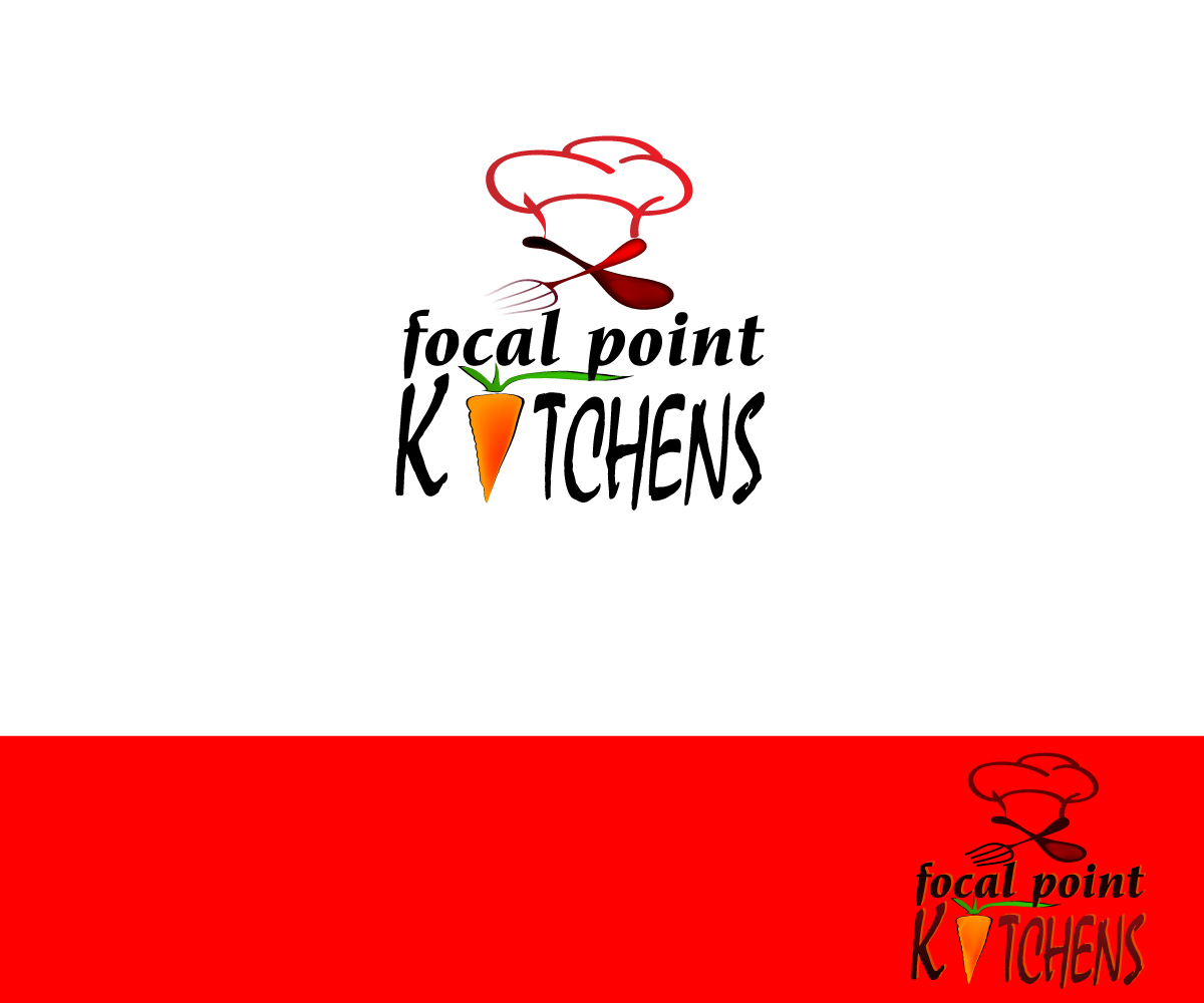 Business Logo Design For Focal Point KITCHENS By Maduu