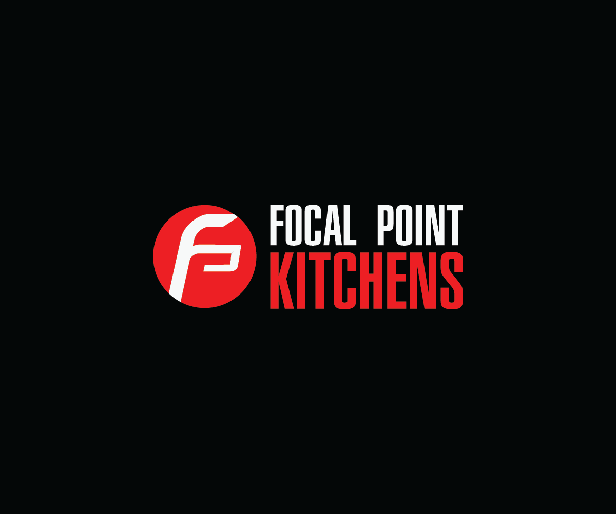 Business Logo Design For Focal Point KITCHENS By ACHUDHAN