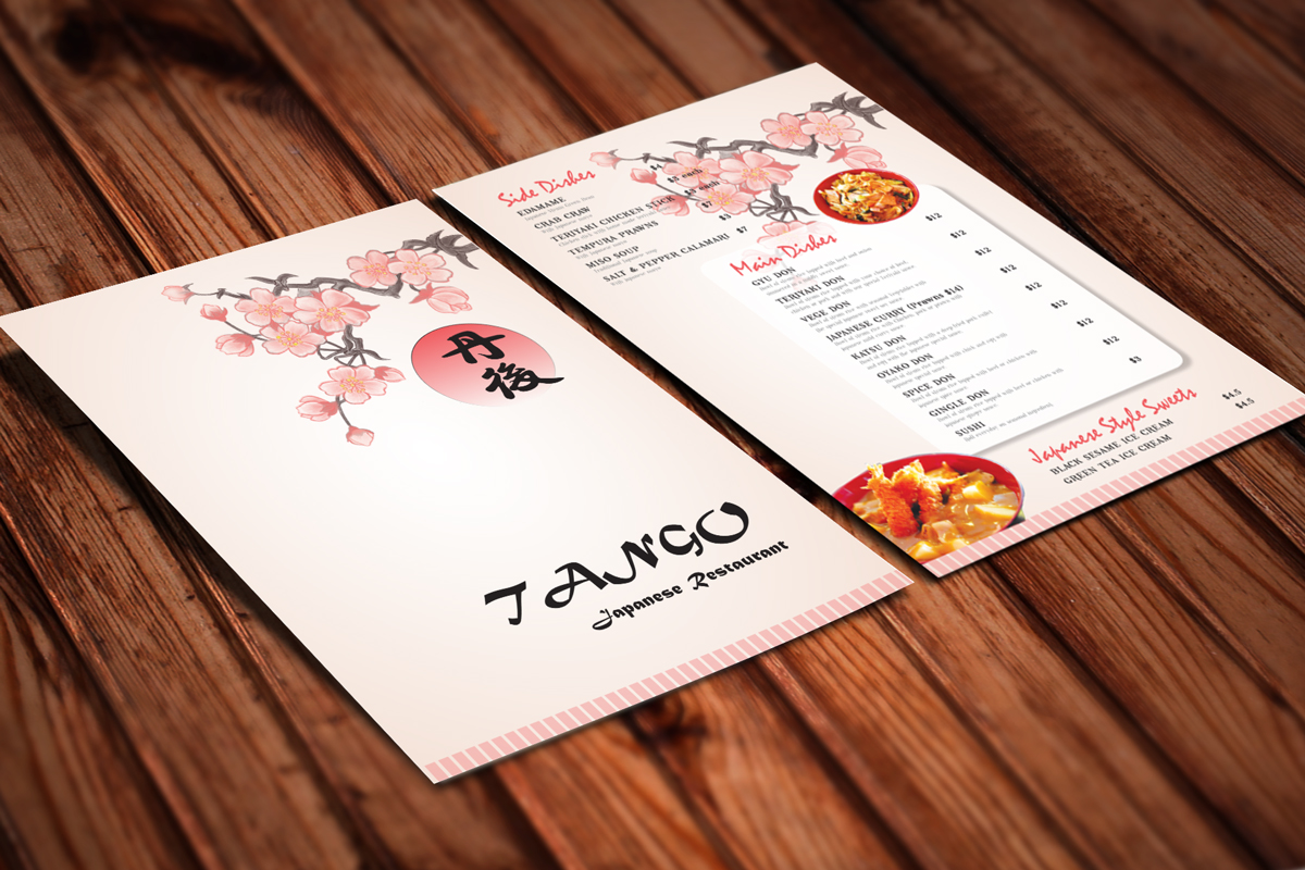 restaurant menu design for a company by vaby87 design 3101439