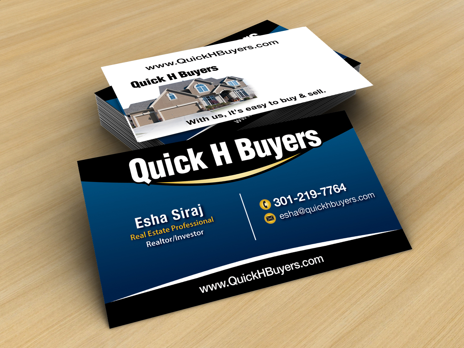 21 business card designs real estate business card design project business card design by jlg studios for this project design 3117766 reheart Choice Image