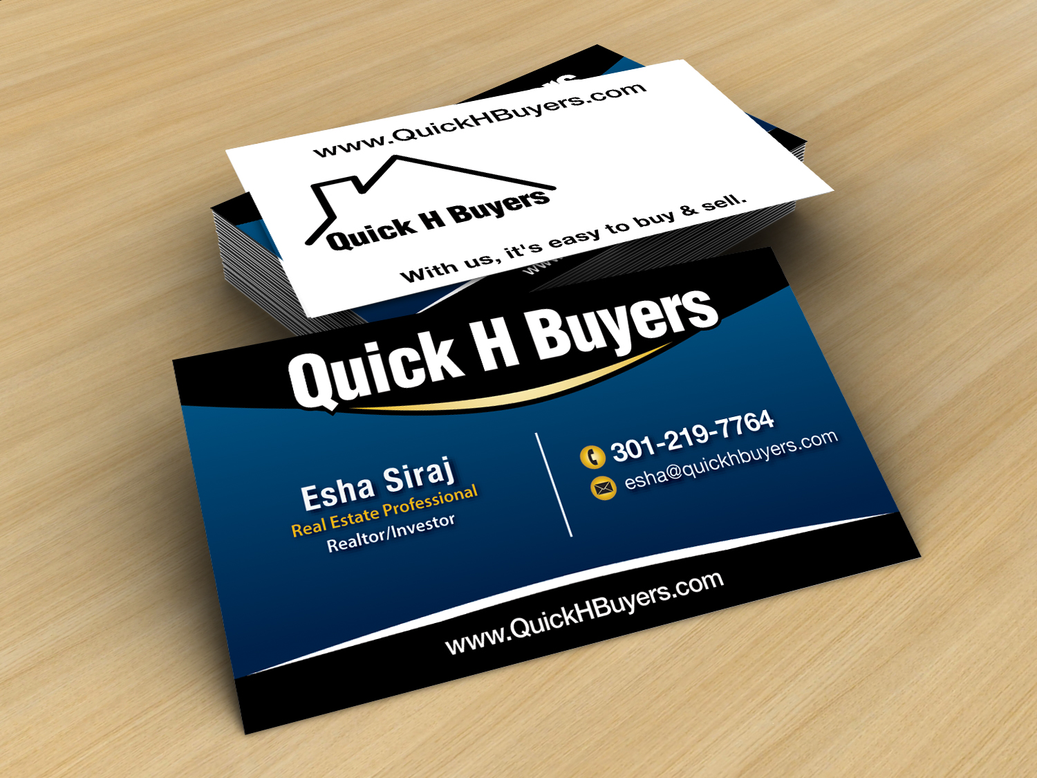 68 professional real estate business card designs for a