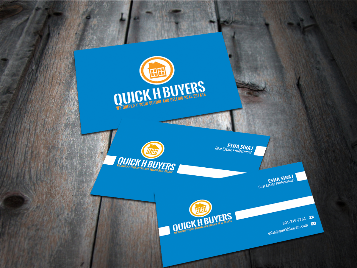 Enchanting real estate business cards ideas inspiration business real estate business card design for a company by smart designs reheart Choice Image