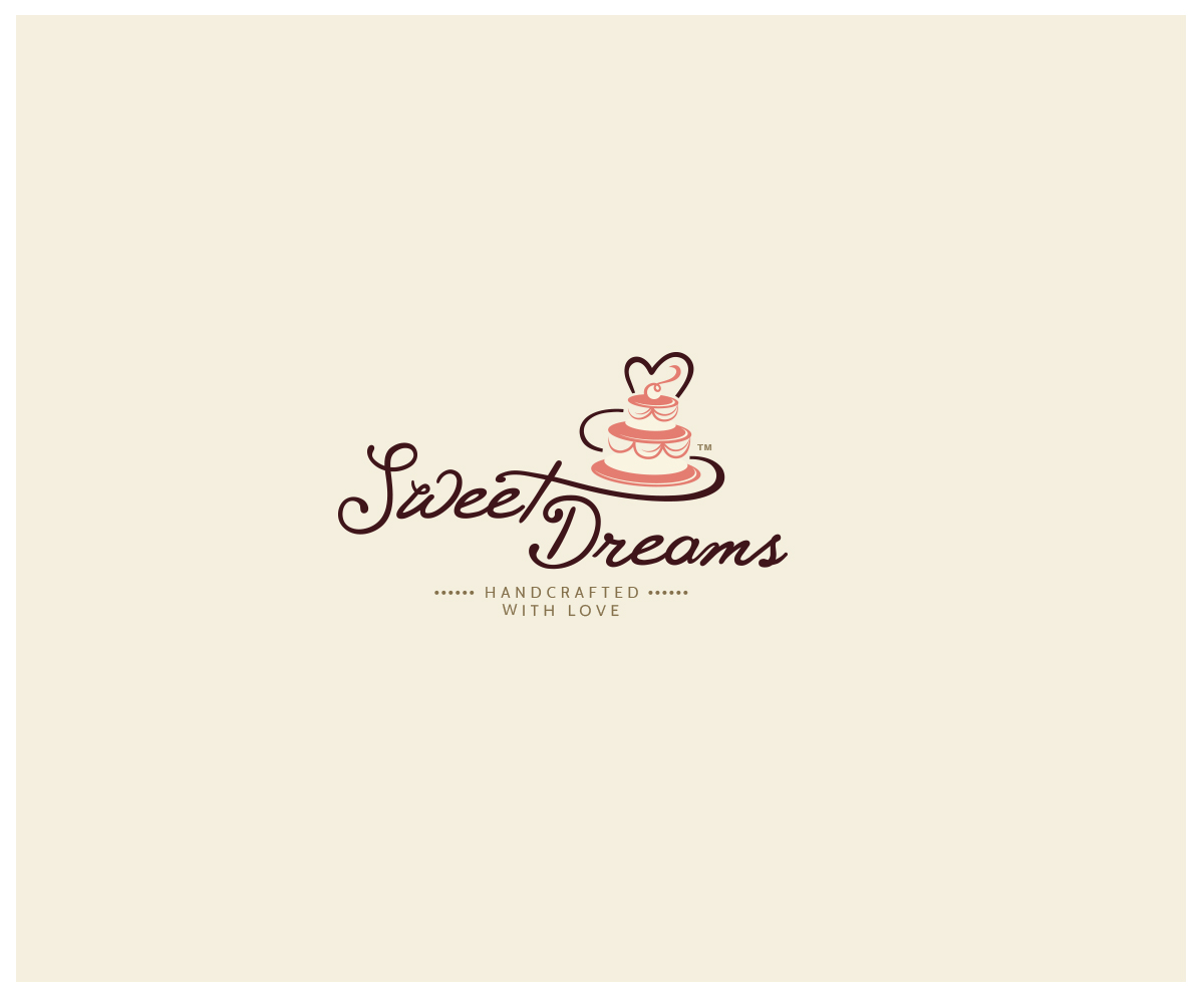 Cake Logo Design Ideas : Playful, Traditional Logo Design for Sweet Dreams NY by ...