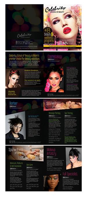 Brochure Design by laxman2creative - Creative Brochure for Beauty School