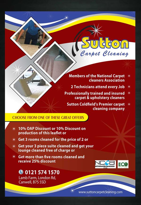 Modern, Feminine Flyer Design for Sutton Coldfield Dairies by Sbss ...