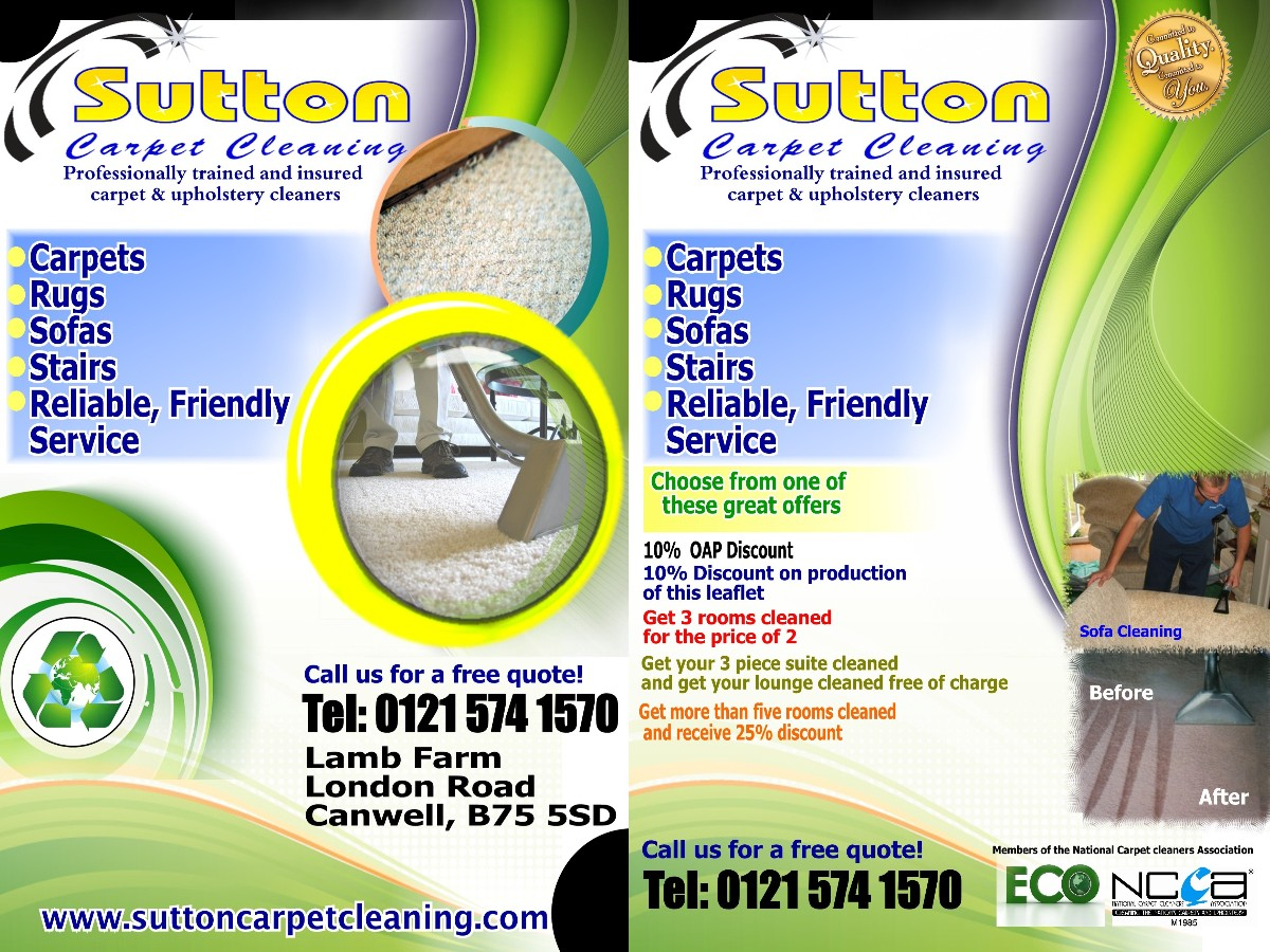 Modern, Feminine Flyer Design for Sutton Coldfield Dairies by ...