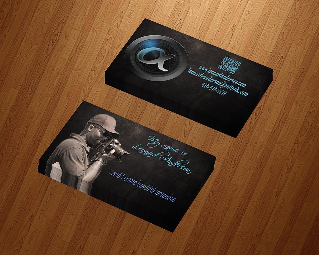 Modern, Masculine, Business Business Card Design for Leonard ...