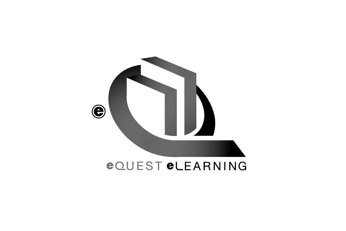 Logo Design by Jace Design for eQuest eLearning - Design #71719