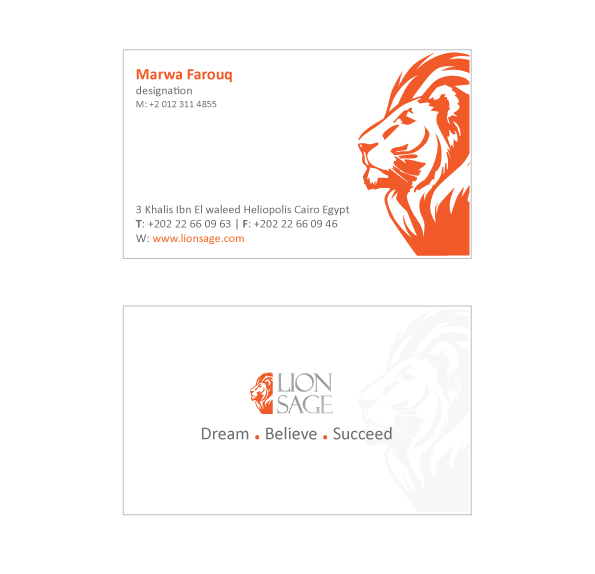 elegant playful business card design for rightscope by pooja