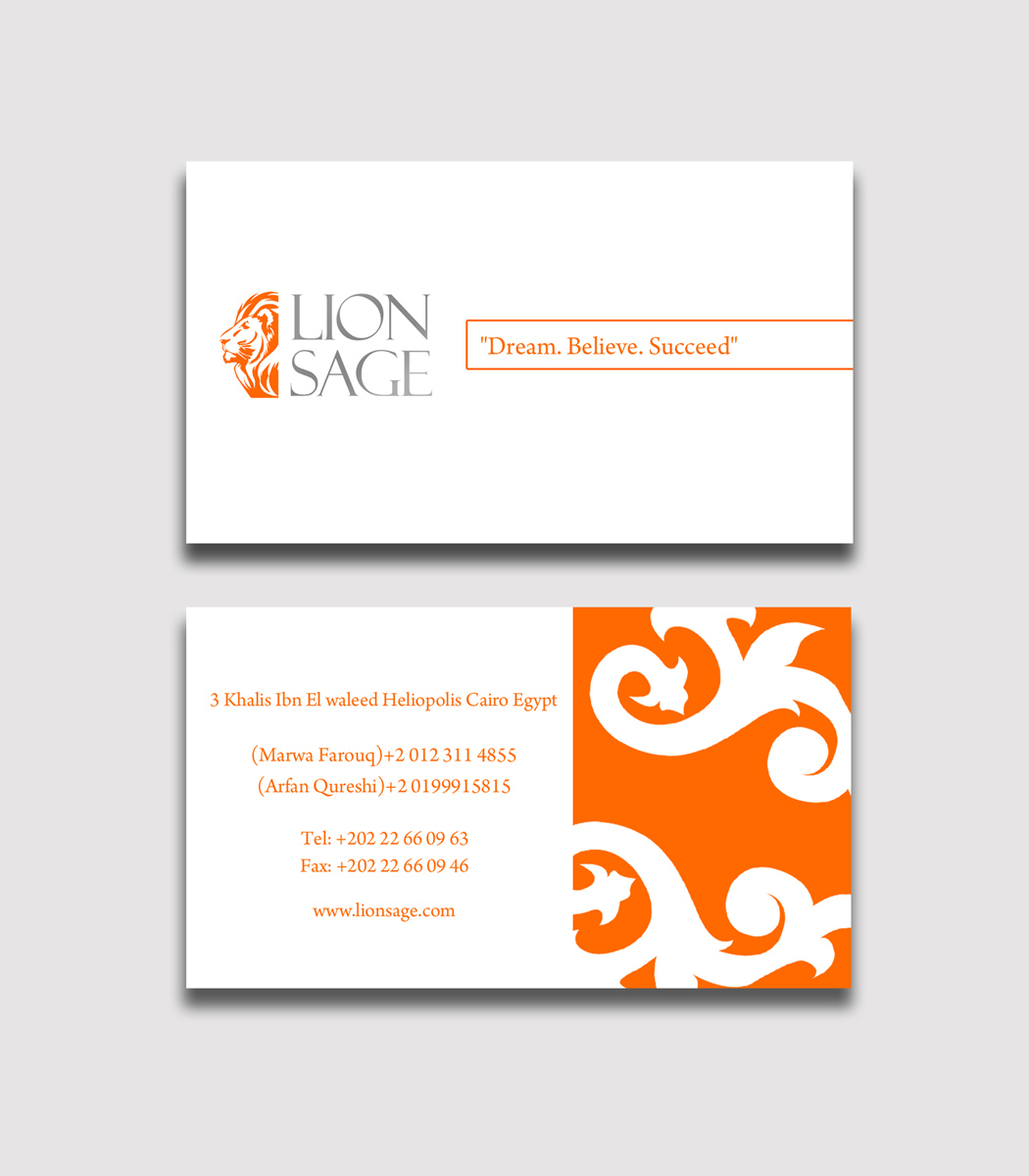 elegant playful business card design for rightscope by sycotik