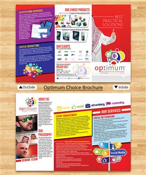 Brochure Design by estevangio - Optimum Choice