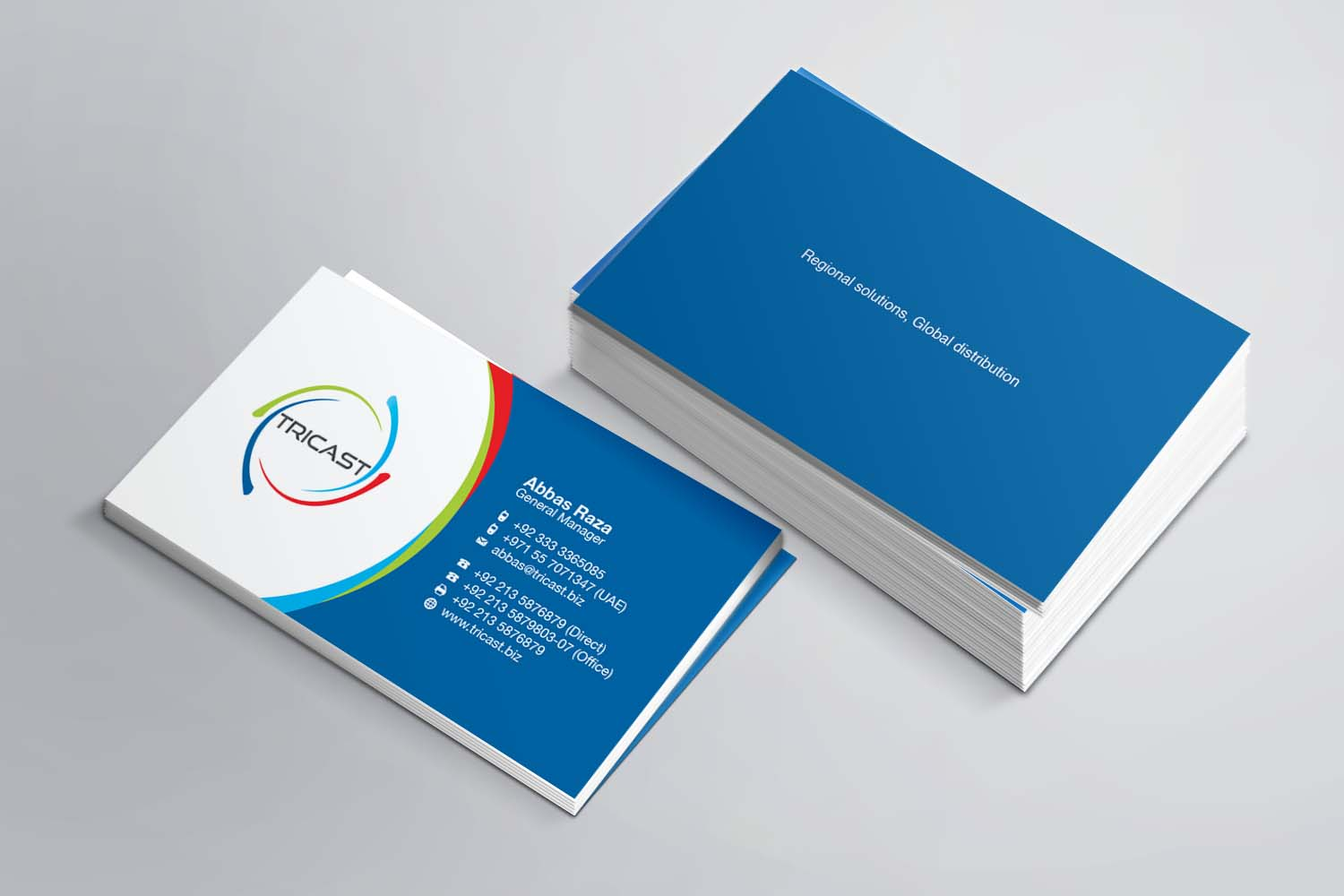 Playful, Modern, Business Business Card Design for a Company by AZ ...