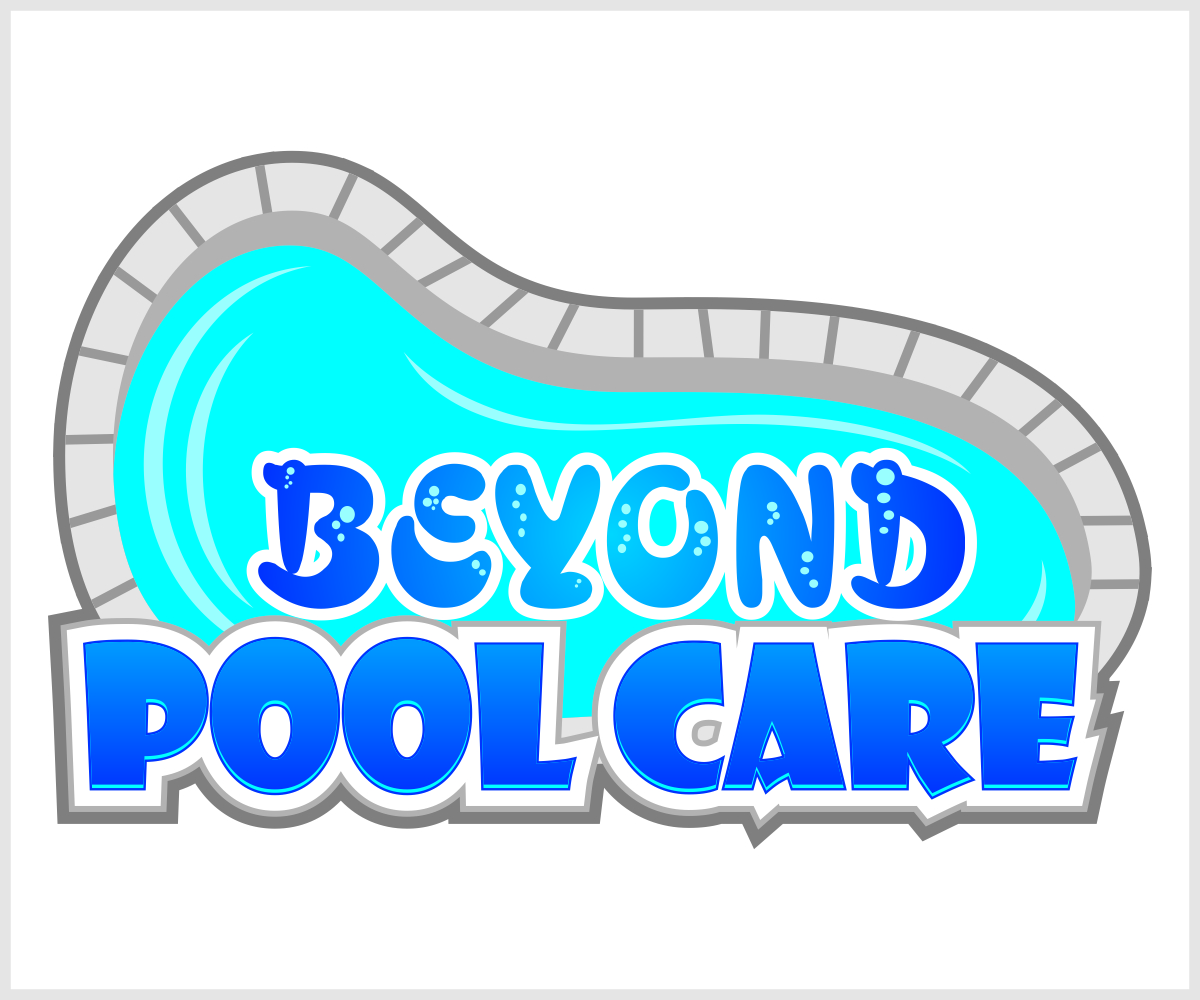 Logo design for beyond pool care by creator design 3138224 for Pool design logo