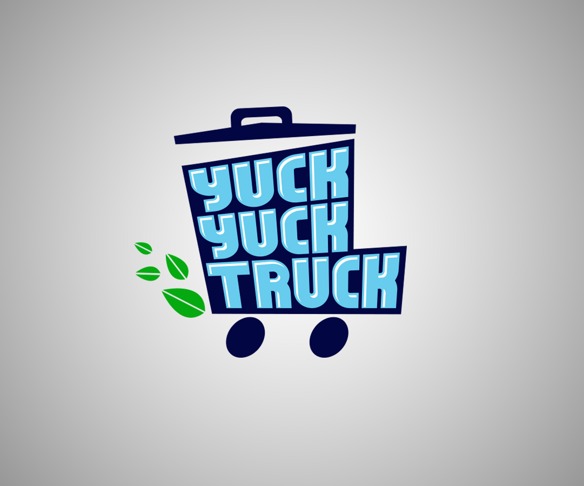 Yuck Character Design : Logo design for yuck truck by spiralled out
