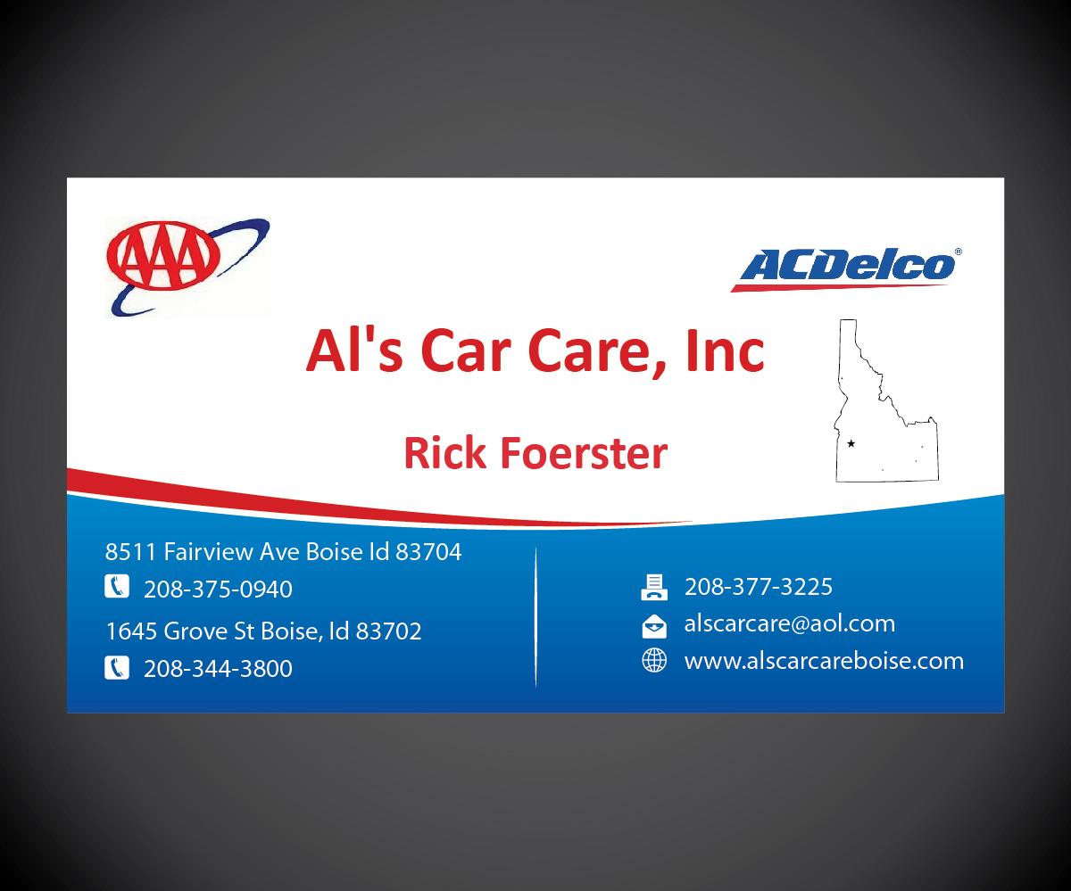 48 business card designs automotive business card design project business card design by joliau for als care care inc design 3250050 reheart Choice Image
