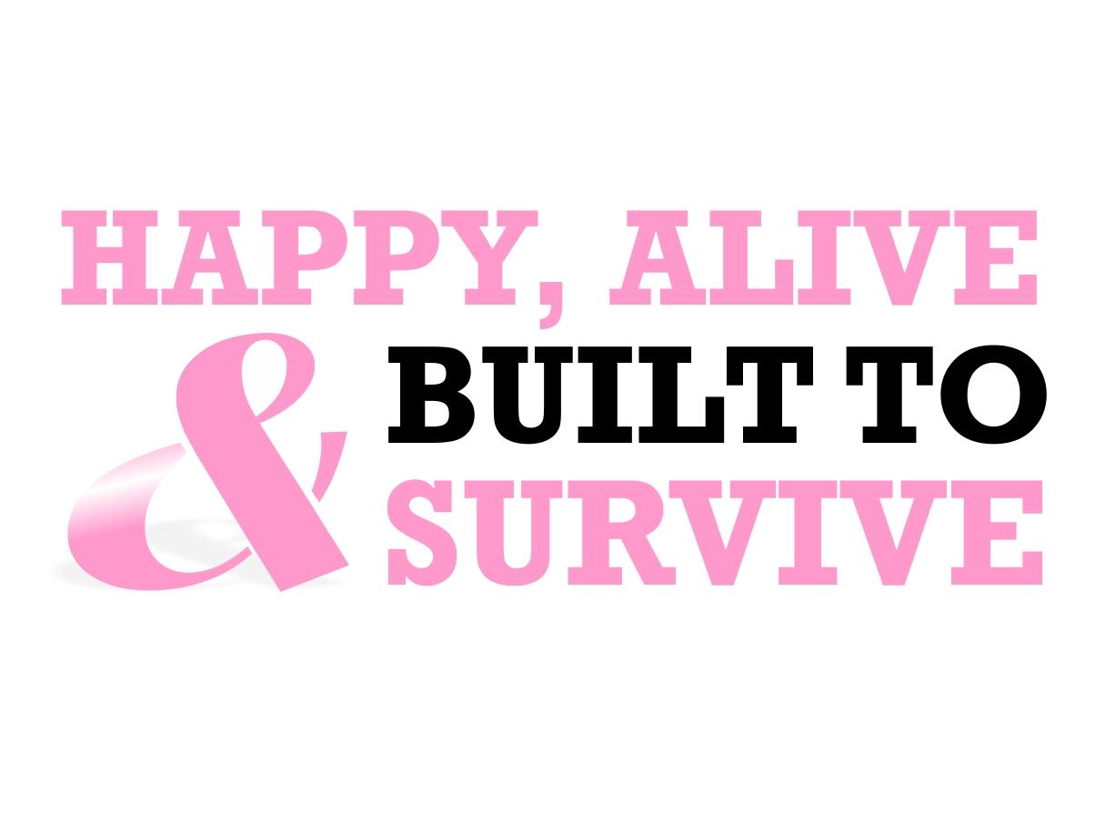 Breast Cancer Quotes Colorful Elegant Logo Design For Greg Ross2Square  Design
