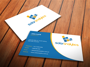 106 serious business card designs business business card design business card design by mediaproductionart for solar analytics design 3140721 colourmoves Image collections