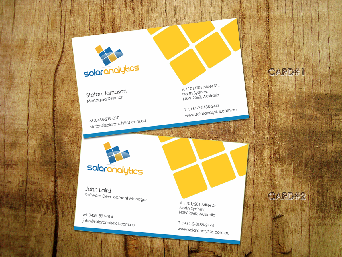 Luxury Business Card Management Software Ensign - Business Card ...