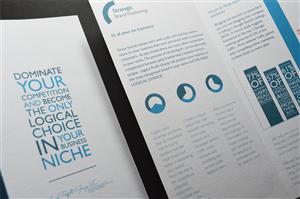 Brochure Design by Matt Hardie - Legacy Profit Group brochure