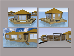 Illustration Design By Zotik For Tides Beach Resort LTD | Design: #780276