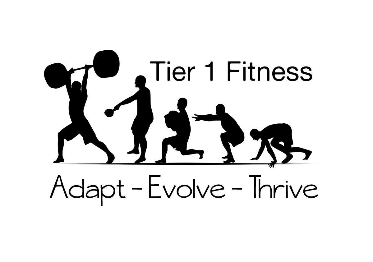 bold serious training logo design for adapt evolve thrive by