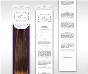 Packaging Design by Marq - Hair Extension Packaging
