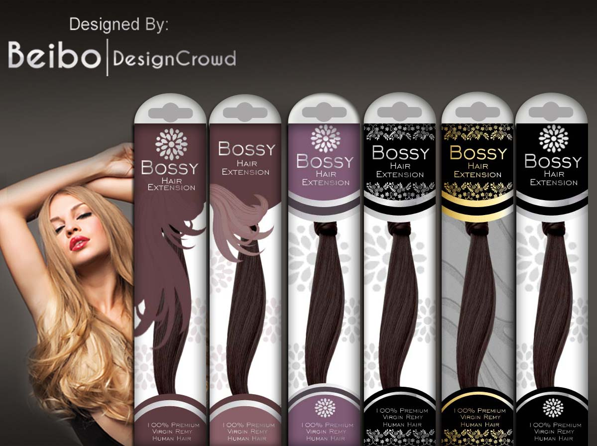 Economical Serious Hair Packaging Design For A Company By Beibo