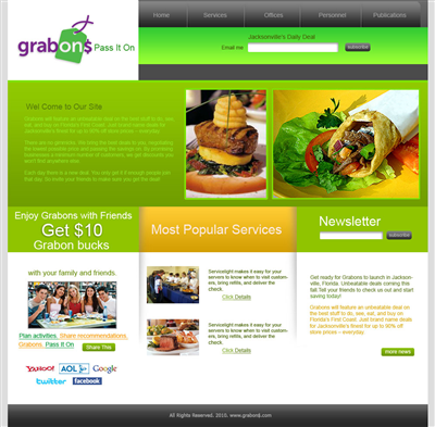 Custom Advertising Agency Web Design 72534