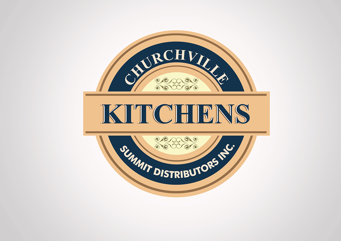 Logo Design By Vjosh For Churchville Kitchens | Design #3140077