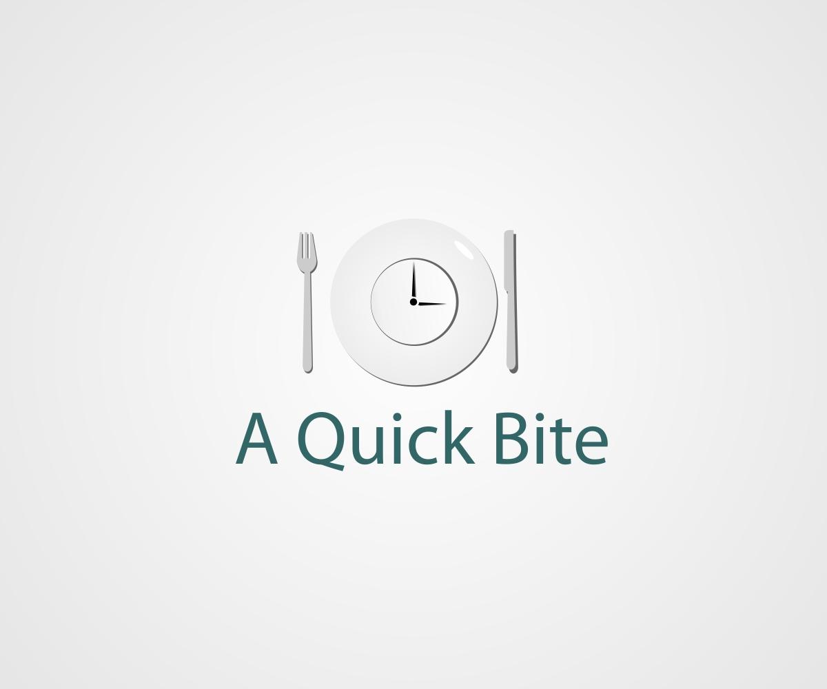 Radio Logo Design for A Quick Bite by quattro+C | Design
